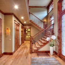 Craftsman Entry by Cornelius Homes, Inc.