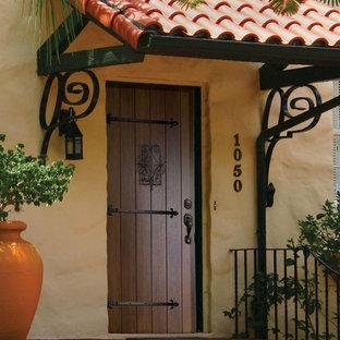 Prehung Exterior Single Door 96 80 FSC Wood Mahogany Solid