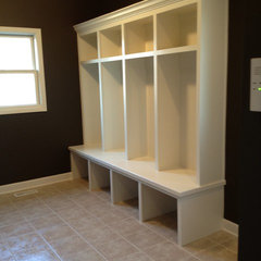 traditional laundry room by King's Court Builders, Inc.