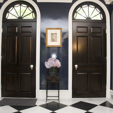 Eclectic Entry by Zoe Feldman Design, Inc.
