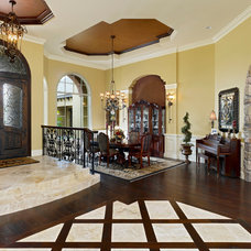 Traditional Entry by Niemann Interiors