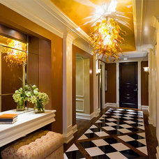Traditional Entry by Eleni Interiors
