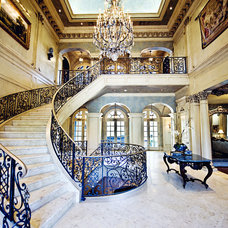 Traditional Entry by Fusch Architects, Inc.