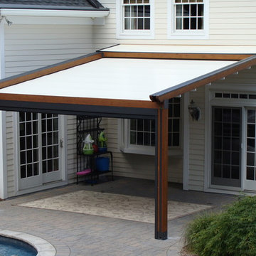 Private Residence, Northern NJ - Retractable Pergola Awning