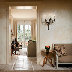 mediterranean entry by Andrea Bartholick Pace Interior Design