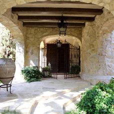 Mediterranean Entry by Fusch Architects, Inc.