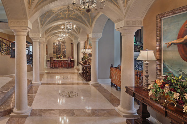 Mediterranean Entry by KDS Interiors, Inc.