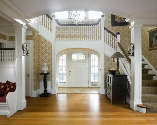 Foyer Stairs Reviews : Foyer stairs entry houzz