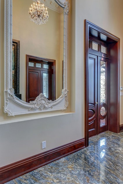 Traditional Entry by Casa Loma Doors & Art glass