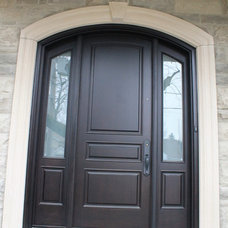 Contemporary Entry by Casa Loma Doors & Art glass