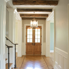 Traditional Entry by Benjamin Blackwelder Cabinetry