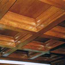 Traditional Entry by Steve's fine woodworking & construction