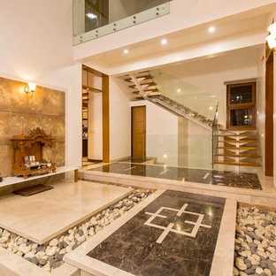 Inspiration For A Modern Entryway Remodel In Bengaluru