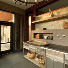 Rustic Entry by Birdseye Design