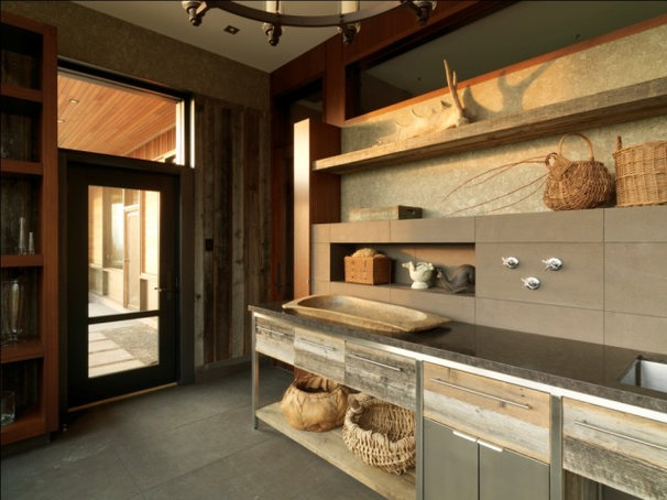 Rustic Entry by Birdseye Design