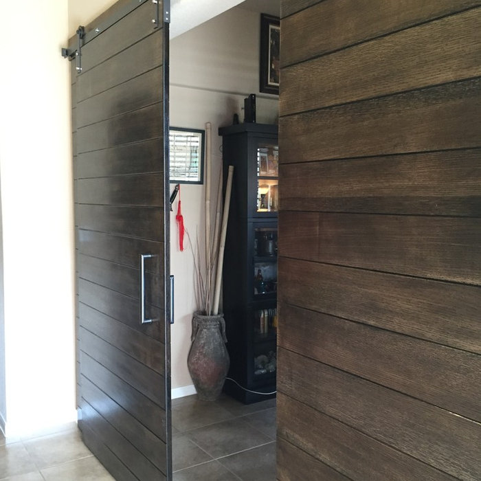 Quartersawn White Oak Sliding Doors