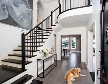Queen Anne Contemporary Home - Foyer