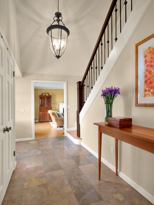 Entry Foyer Lighting Houzz : Tile floor foyer houzz