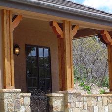 Traditional Entry by GEM Interior Design, Inc.
