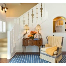 Traditional Entry by Classically Yours Interiors (CYInteriors)