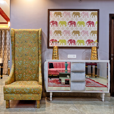 Contemporary Entry by Kamal Kavita Interiors