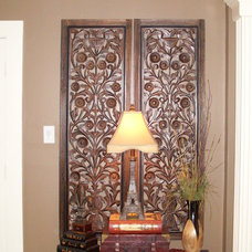 Eclectic Entry by Interiors with Attitude, LLC