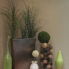 Contemporary Entry by Lisa Silverman/ Decorator Guru