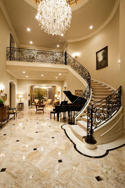 Traditional Entry by Jennifer Bevan Interiors