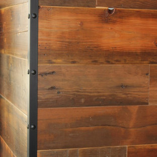 Reclaimed Wood Feature Walls & Wall Cladding