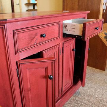 Red Alder Cabinet