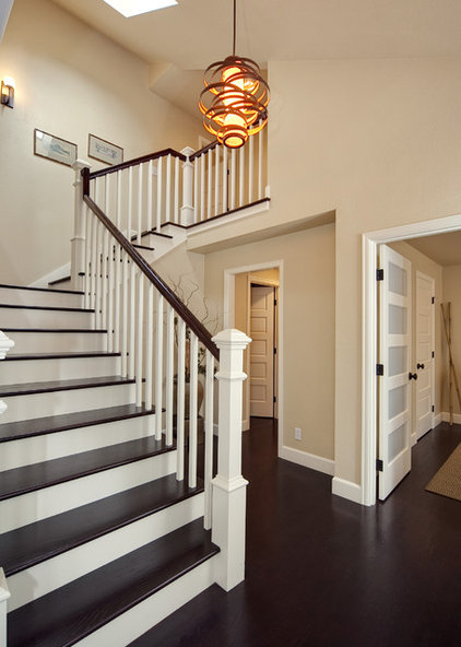 Contemporary Entry by Interiors