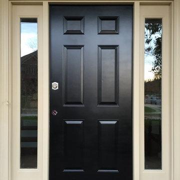 Refinishing Front Doors