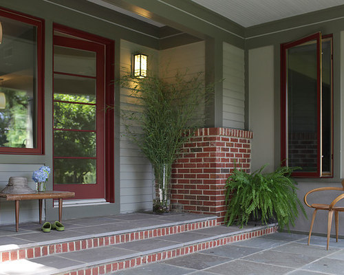 Exterior Paint Colors With Red Brick Trim