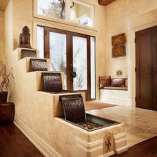Rustic Entry by Regina Sturrock Design Inc.