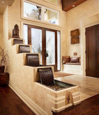 Rustic Entry by Regina Sturrock Design Inc.