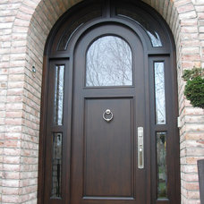 Contemporary Entry by Appalachian Woodwrights