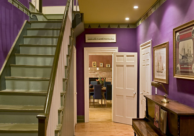 Traditional Entry by Smith & Vansant Architects PC