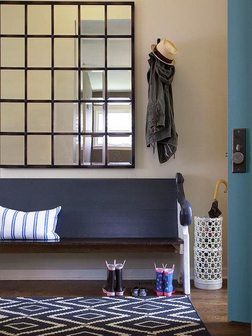 Houzz Foyer Mirror : Best vintage pew bench design ideas remodel pictures houzz