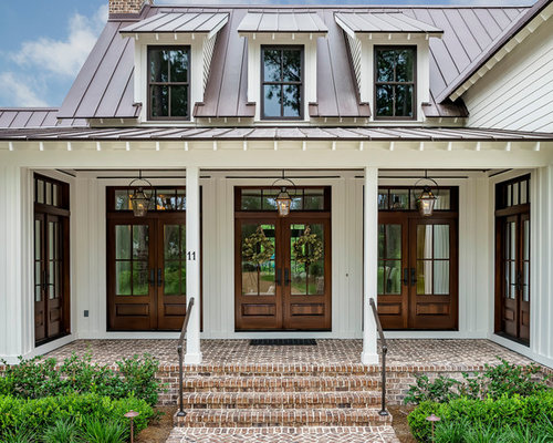 Groovy Houzz Entryway With A Double Front Door Design Ideas Remodel Largest Home Design Picture Inspirations Pitcheantrous