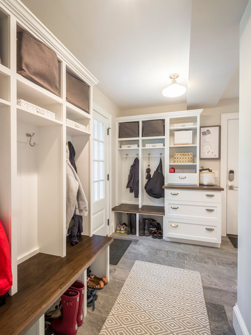 Inspiration for a large timeless porcelain floor entryway remodel in  Minneapolis with beige walls and a. 12 X 10 Room Entry Ideas   Photos   Houzz