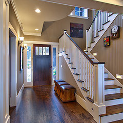 traditional entry by RGN Construction