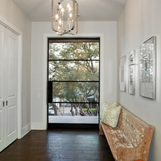 contemporary entry by Cornerstone Architects