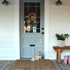 Eclectic Exterior by Home & Harmony