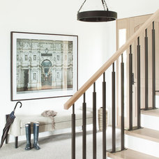 Contemporary Entry by Kelly Deck Design