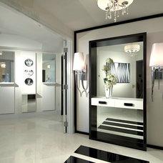 Contemporary Entry by Britto Charette Interiors - Miami Florida
