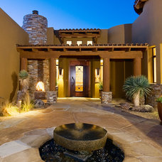 Southwestern Entry by Boxhill Design