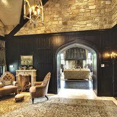 Traditional Entry by Gunson Custom Mountain Architects