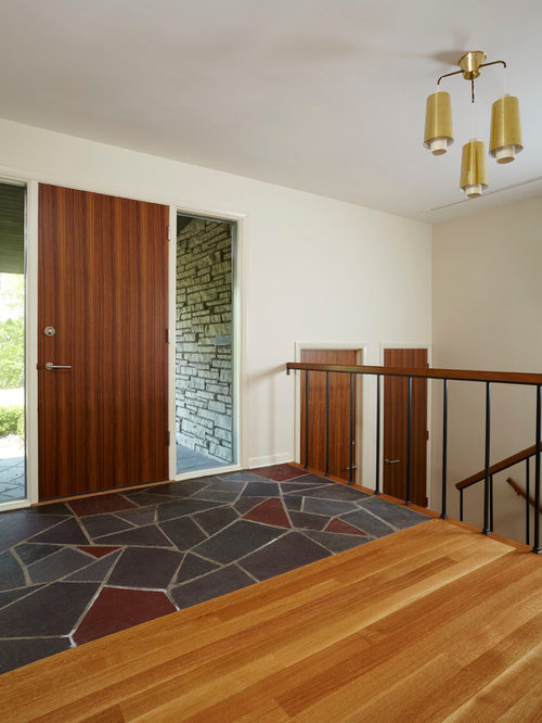 Slate Entry Home Design Ideas Pictures Remodel And Decor
