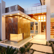Contemporary Entry by Project Designs Architects