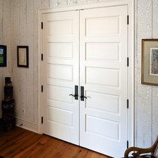 Farmhouse Entry by Robert J Erdmann Design, LLC